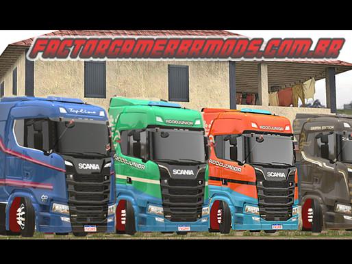Download Scania S & R BR Edition V3 Ets2 V. 1.35x.x.x