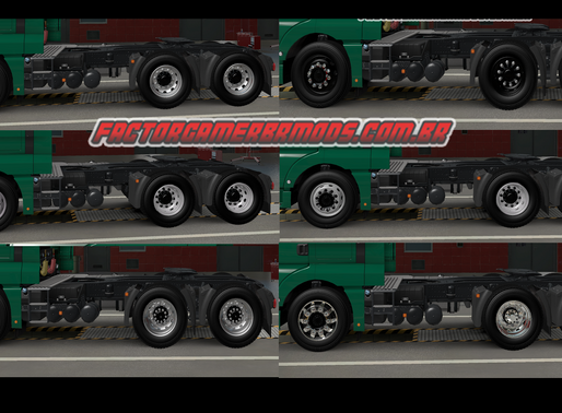 Download Pack de Rodas Qualificadas  para Ets2 V. 1.37.X