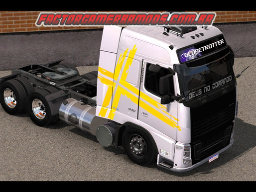 Download Volvo FH16 e Volvo FH12 by Rafael Alves Ets2 V. 1.36.X