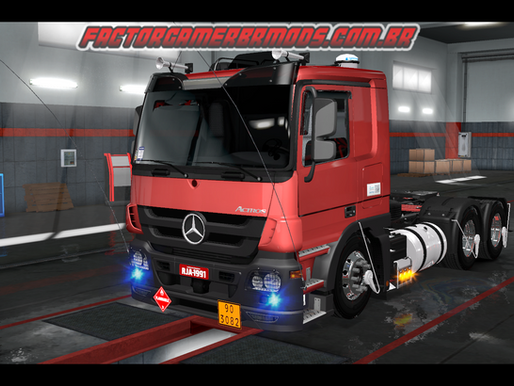 Download Mercedes Actros Estilo BR para Ets2 V. 1.36.x e  1.35.x