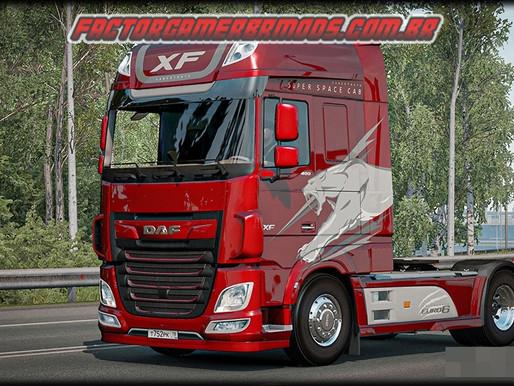 Download Pack de Skins Daf XF Euro 6 SaberTooth  para Ets2 V.1.36.x e 1.37.x