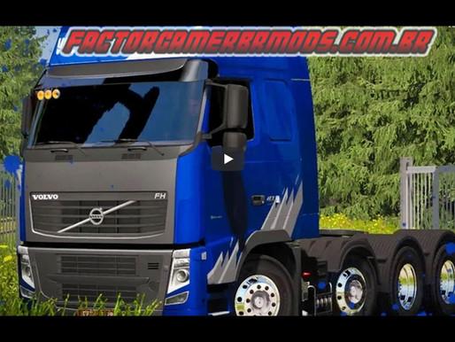 Download Volvo FH16 Edit BR V.4.1by Lucas Coelho Ets2 V. 1.36.X