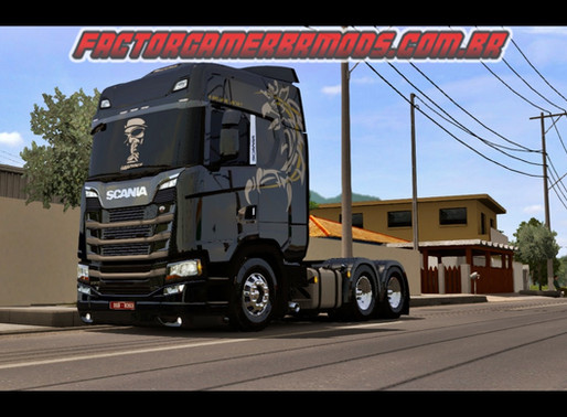 Download Addon  BR by Rafael   Alves para Scania NTG Eugene para Ets2 V. 1.36.x