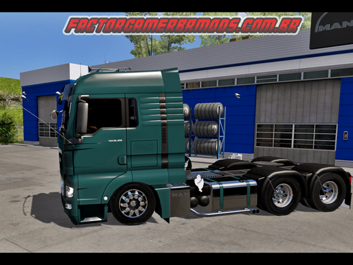 Download  Man TGX BR Edit Qualificado  para Ets2  V.1.37.x