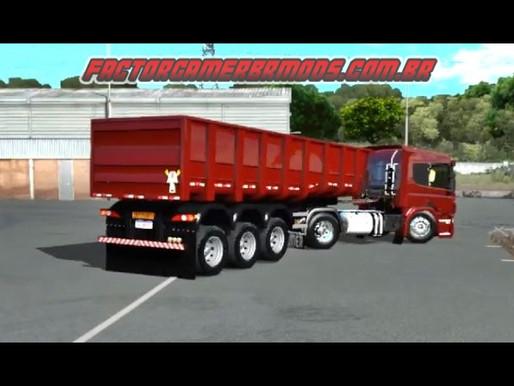 Download Scania P 340  Qualificada + Caçamba  para Ets2 V. 1.36.x