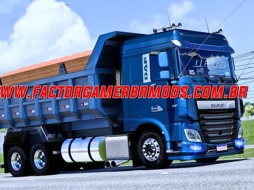 Download Daf XF Euro6 Caçamba Truck e Bitruck V.1.0 para Ets2 V.1.40.x e 1.41.x