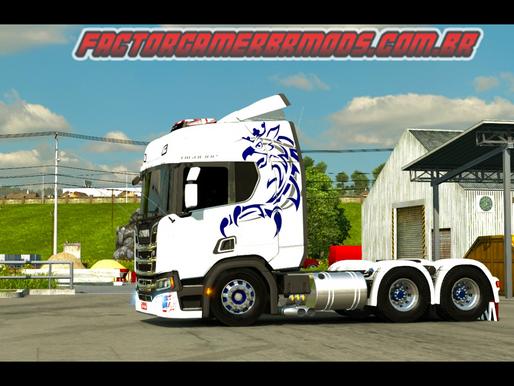 Download Scania NTG dos Inscritos by Cacarécos Gamer para Ets2 V. 1.36.x