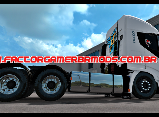 Download Iveco Stralis Hi-Way 560 BR V3.0  Edit by Factor Gamer BR para  Ets2 V. 1.38.x