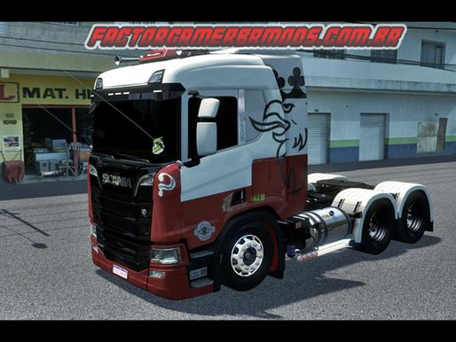 Download Skin Bode do NENI para Scania R NTG Cabine Baixa para Ets2 V.1.37.x e 1.36.x