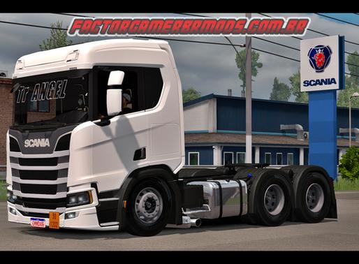 Download Scania NTG R450 TR Angel para Ets2 V. 1.36.x