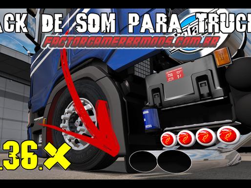Download Pack de Sons Para Caminhões Para  Ets2 V. 1.36.x