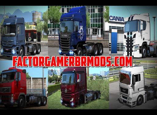 Download Pack de Trucks Estilo BR Para Ets2  V.1.37.X