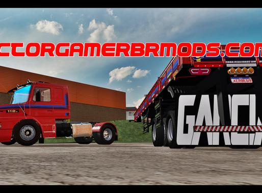 Download Scania 112H + Carretinha 2  Eixos Bruno Garcia para  Ets2 V. 1.37.x e 1.38.x