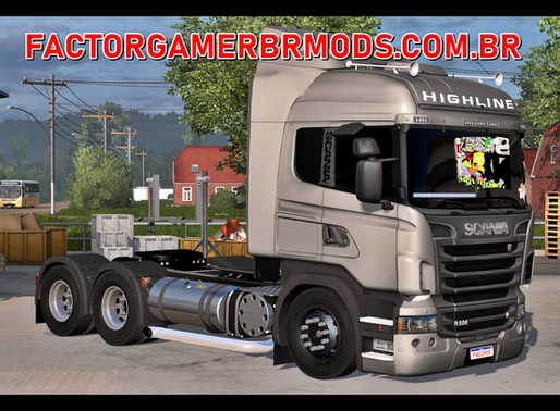 Download Scanias Highline e Streamline BR V1.0 para Ets2 V. 1.37.x