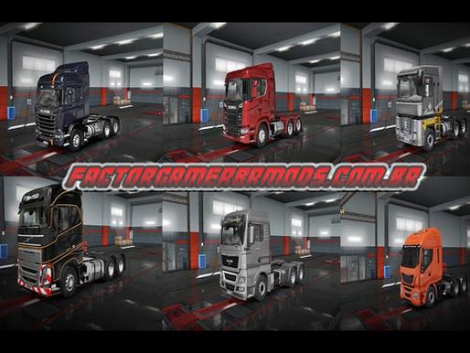 Download Pack de Caminhões Edit Br Ets2 V.1.36.x