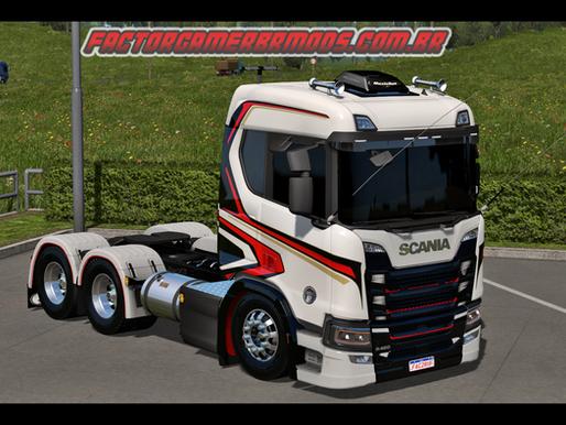Download Skin Chimera para Scania NTG para Ets2 V.1.36.x