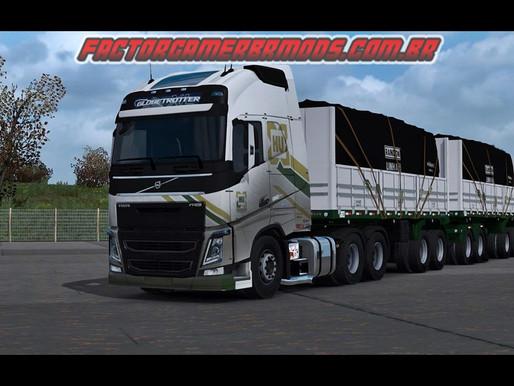 Download  Skin Suja Hungaro Transportes para Volvo FH16  para Ets2  V.1.36.x e V.1.37.x