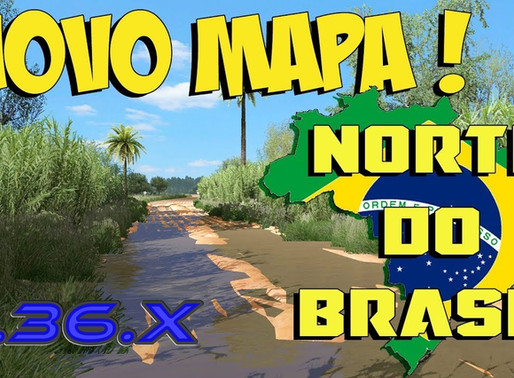 Download Mapa Norte Brasil 4.0 Ets2 V. 1.36.X