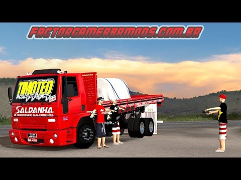 Download Ford Cargo da Ana Carolina para  Ets2 V. 1.36.x