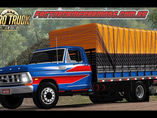 Download Ford F-4000 para Ets2 V. 1.36.x