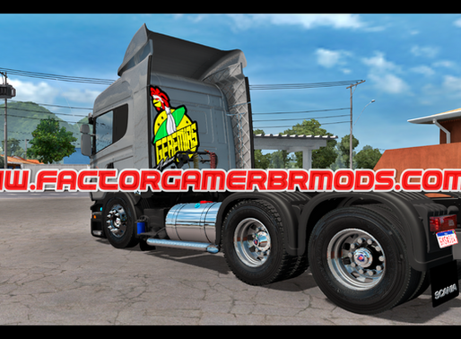 Download Scania  R440  Arqueada para  Ets2 V. 1.37.x e  1.38.x