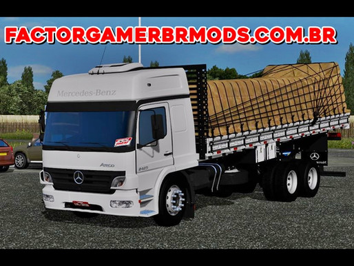 Download Atego GBN  Arqueado para Ets2 V. 1.37.x