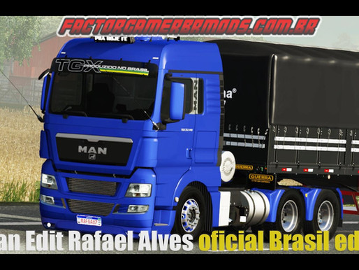 Download Man TGX Edit BR by Rafael Alves  Ets2 V. 1.36.x