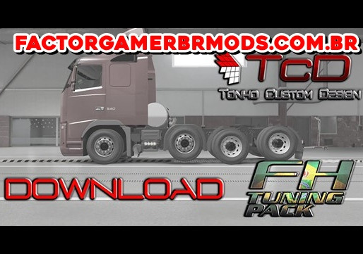 Download  Volvo FH  BR  By Tonho Nunes  para Ets2   V.1.37.x