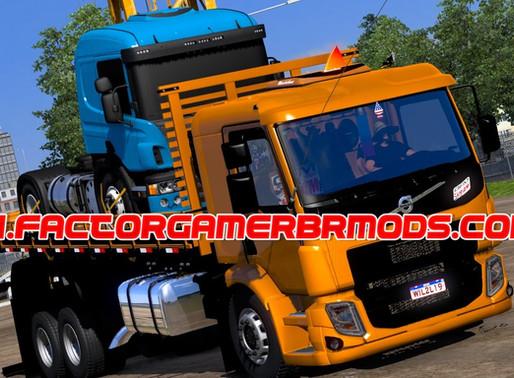 Download Volvo VM Multi carrocerias by   Madruguinha mods para  Ets2 V.1.38.x