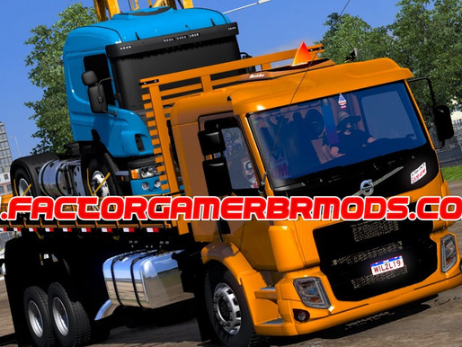 Download Volvo VM Multi carrocerias by   Madruguinha mods para  Ets2 V.1.38.x