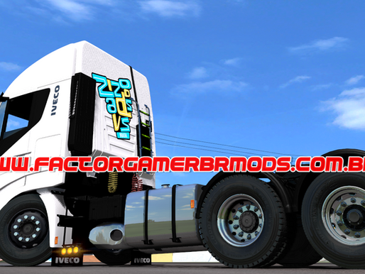 Download Iveco Hi-Way 560 BR V4.0 by Factor Gamer BR para  Ets2 V. 1.39.x