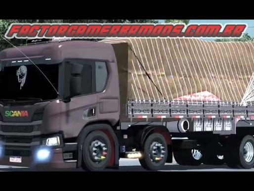 Download Scania New P Carroceria e Baú Qualificada Ets2 V. 1.34x.x.x