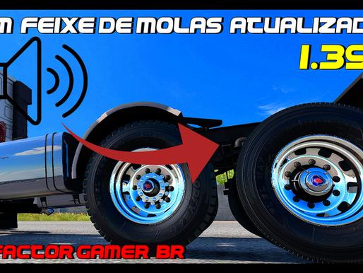 Download  Atualização do Mod Som de Feixe  de  Molas  para todos  Trucks para Ets2 V.1.39.x