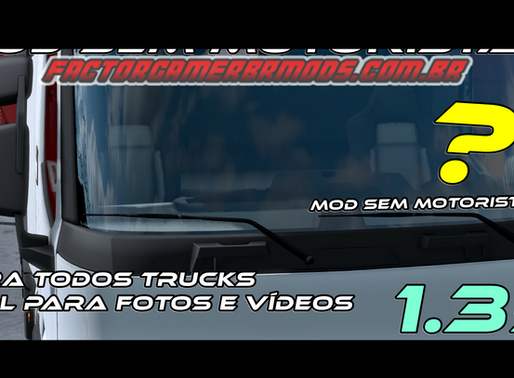 Download Mod Sem motorista para Todos os Trucks Ets2 V. 1.35.x
