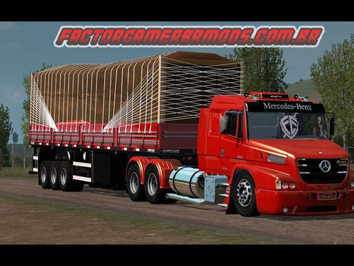 Download Mercedes Atron Qualificado para Ets2 V. 1.37.x