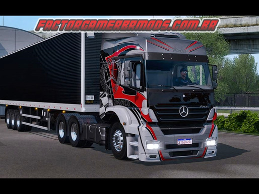 Download  Skin Personalizada para Axor  South Gamer  para Ets2  V.1.37.x