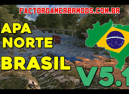 Download Mapa Norte do Brasil V.5.1 Para Ets2 V.1.37.X By Reinaldo Souza