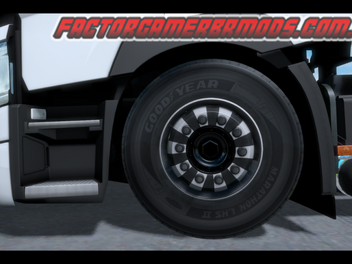 Download Pack de Rodas V3 para  Caminhões e Reboques by South Gamer Ets2 V. 1.35.x