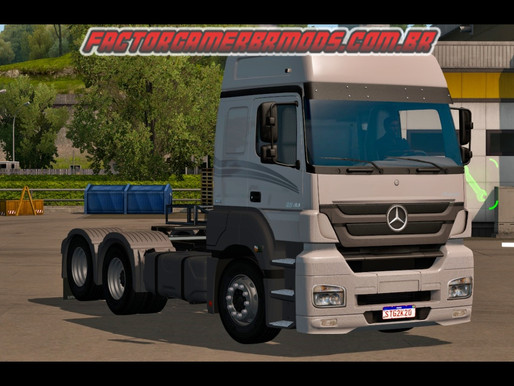 Download Mercedes Axor MP3 e MP2 V2.0 Qualificado para Ets2 V. 1.37.x