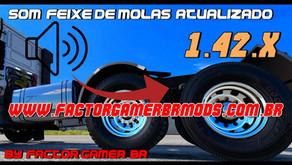 Download  Atualização do Mod Som de Feixe  de  Molas  para todos  Trucks para Ets2  V.1.42.x