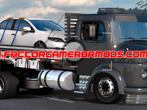 Download Mercedes 1313 Toco Carroceria e Baú para  Ets2 V.1.38.x