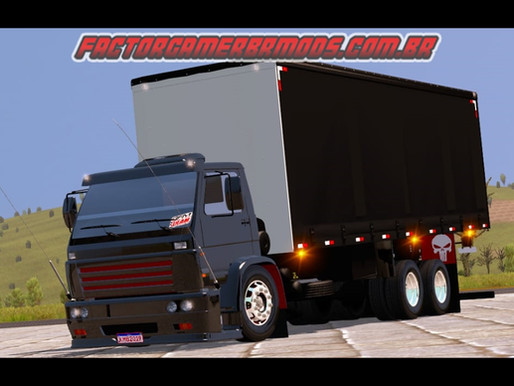 Download VW Titan Fuscão no Baú Sider  Ets2 V. 1.36.x