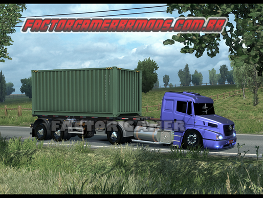 Download  Mod  Gráfico Mais  Realista  para   PC Fraco  para Ets2 V.1.36.x