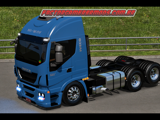 Download Iveco Hi-Way 560  BR V2.0  Edit Factor Gamer BR para  Ets2 V. 1.36.x