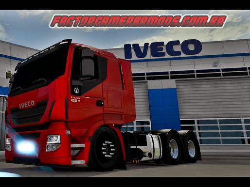Download Iveco stralis Estilo BR V1  Ets2 V. 1.36.x