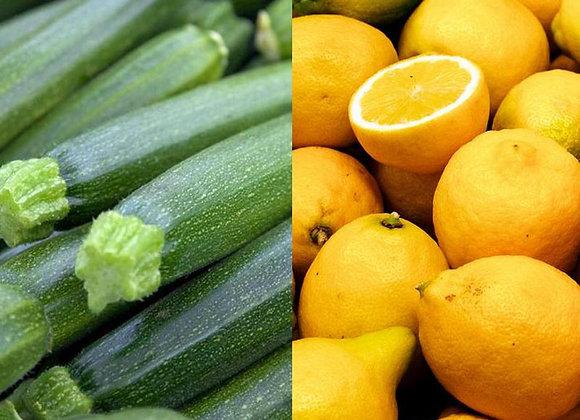 Courgette & Citron