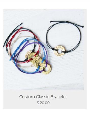 Custom Classic Bracelets