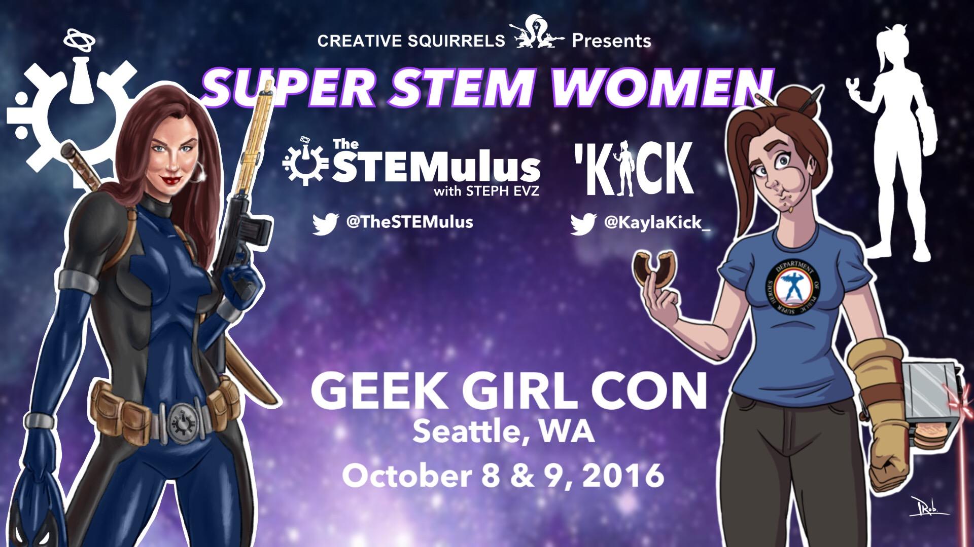 Geek Girl Con Seattle 2016