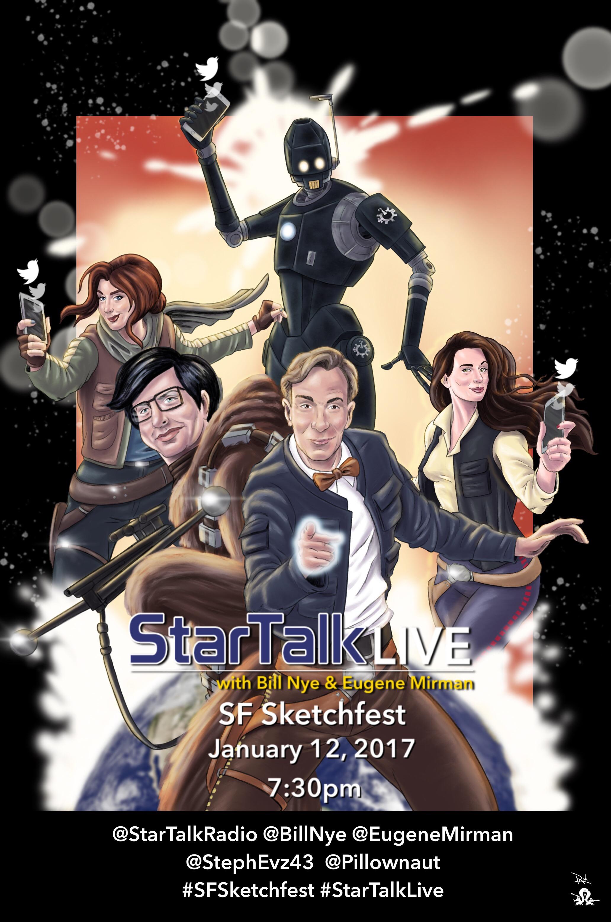 StarTalk LIVE 2017 Promo Art
