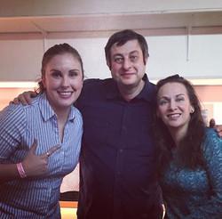 Steph, Eugene Mirman, & Heather